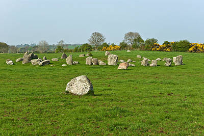 Photograph - Ballynoe Stone Circle by Jane McIlroy