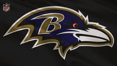 Baltimore Photograph - Baltimore Ravens Uniform by Joe Hamilton