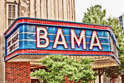 Bama Art Print by Scott Pellegrin