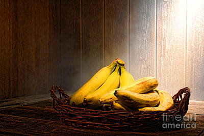 Bananas Art Print by Olivier Le Queinec