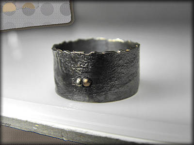Sterling Silver Rings Jewelry - Band Ring by Vesna Kolobaric