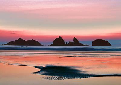 Photograph - Bandon Sunset by Jean Noren