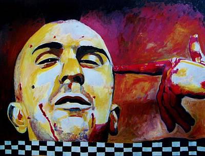 Robert Deniro Wall Art - Painting - Bang by Jeremy Moore