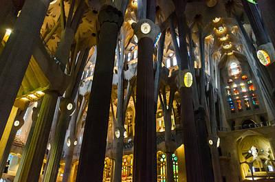 Barcelona Photograph - Barcelona - Sagrada Familia by Andrea Mazzocchetti