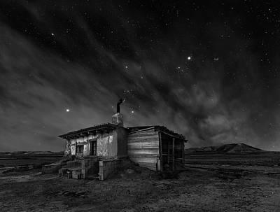 Cottage Wall Art - Photograph - Bardenas Night by Martin Zalba