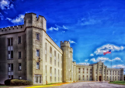 Vmi Photograph - Barracks Building - Vmi by Mountain Dreams