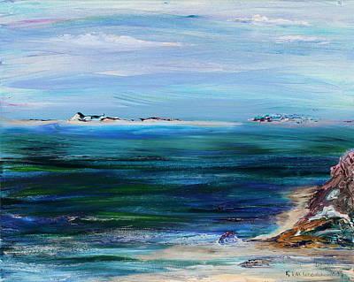 Painting - Barrier Islands by Regina Valluzzi