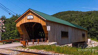 Photograph - Bartonsville Covered Bridge. by New England Photography