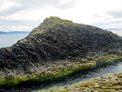 Photograph - Basalt Rock On Staffa by Denise Mazzocco
