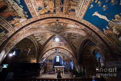 Basilica Di San Francesco Photograph - Basilica Di San Francesco, Assisi by Tim Holt