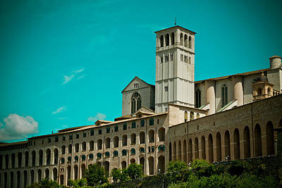 Basilica Of San Francesco Assisi  Art Print by Raimond Klavins