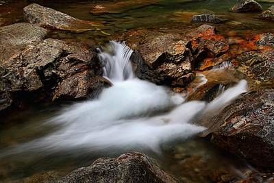 Photograph - Basin Cascade by Mike Farslow