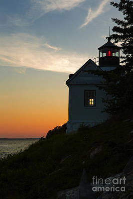 Maine Nature Photograph - Bass Harbor Lighthouse by Diane Diederich