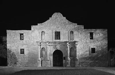 The Alamo Wall Art - Photograph - Bastion Of Legends by Mountain Dreams