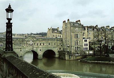 European City Painting - Bath England by Ellen Henneke