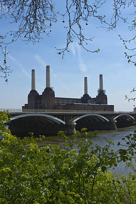 London Skyline Royalty-Free and Rights-Managed Images - Battersea Power Station by David French