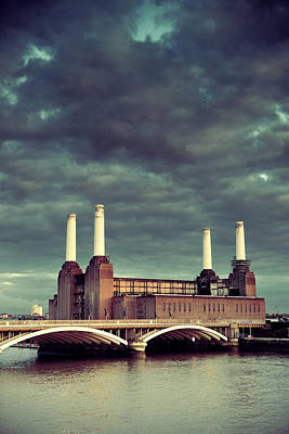 Photograph - Battersea Power Station London by Songquan Deng