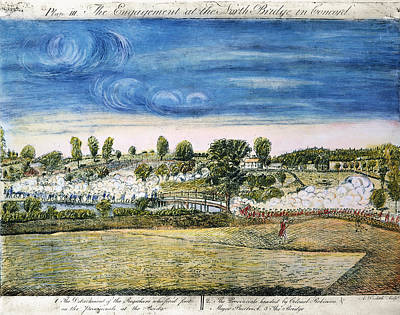 Concord Photograph - Battle Of Concord, 1775 by Granger