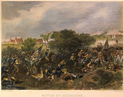 Battle Of Monmouth, 1778 Art Print by Granger