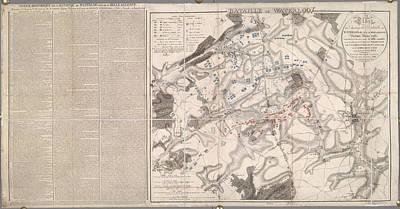 Battle Of Waterloo Art Print
