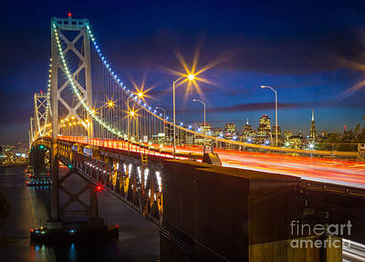 Bay Bridge Photograph - Bay Bridge by Inge Johnsson