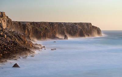 Algarve Wall Art - Photograph - Beach And Cliffs At Praia Do Telheiro by Martin Zwick