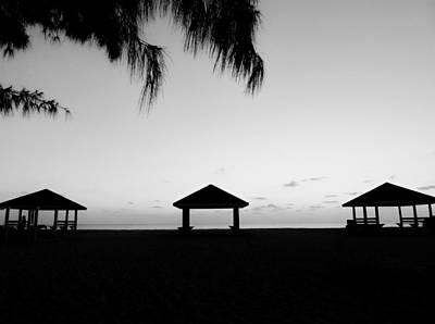 Art Print featuring the photograph Beach Huts by Amar Sheow