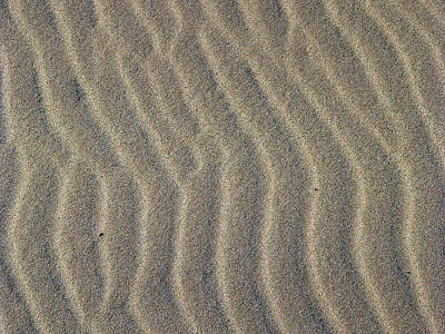 Photograph - Beach Sand Abstract by Jeff Lowe