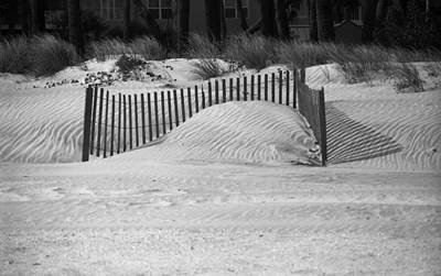 Photograph - Beach Sand Dunes by Frank Romeo
