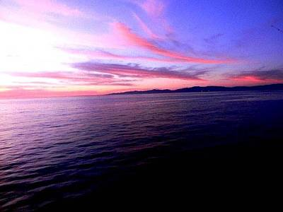 Photograph - Beach Sunset by Brandon Garcia