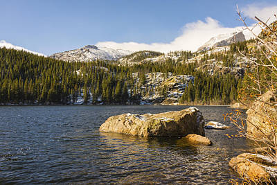Photograph - Bear Lake - Rocky Mountain National Park Colorado by Brian Harig