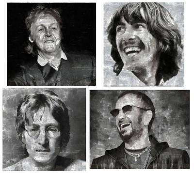 Beatles Art Print by Galeria Zullian  Trompiz