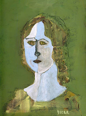 Portraits Painting - Beatrice  by Oscar Penalber