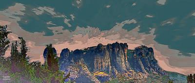 Photograph - Beautiful Mountains by Augusta Stylianou