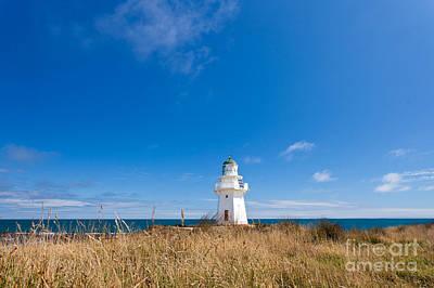 Beautiful Waipapa Point Lighthouse The Catlins Nz Art Print by Stephan Pietzko