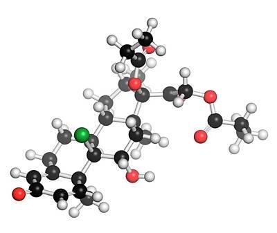 Aerosol Photograph - Beclometasone Dipropionate Steroid Drug by Molekuul