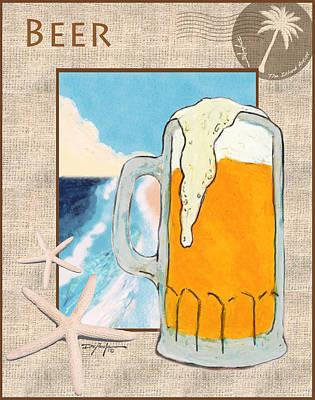 Beer Mixed Media - Beer by William Depaula