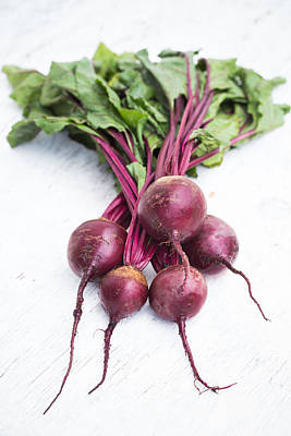 Photograph - Beetroots by Voisin/Phanie
