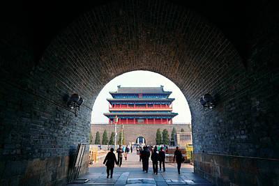 Impressionist Landscapes - Beijing street by Songquan Deng