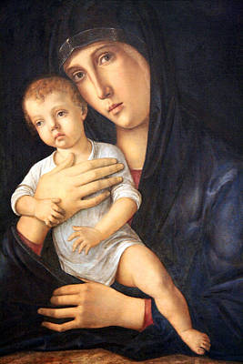 Photograph - Bellini's Madonna And Child by Cora Wandel