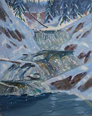 Below Greylock Art Print by Len Stomski