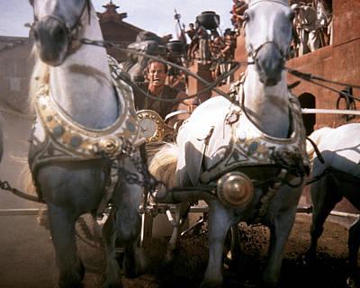 Ben Hur Photograph - Ben-hur  by Silver Screen