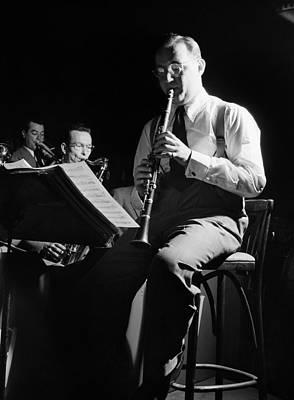 Photograph - Benny Goodman (1909-1986) by Granger