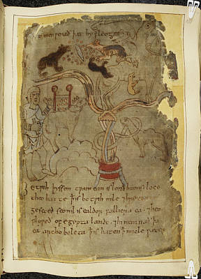 Epic Photograph - Beowulf An Epic Poem by British Library