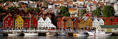 Density Photograph - Bergen Norway by Panoramic Images