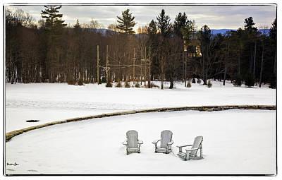 Berkshires Winter 3 - Massachusetts Print by Madeline Ellis