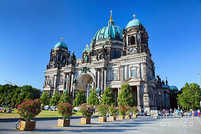 Culture Photograph - Berlin Cathedral by Michal Bednarek