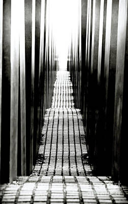 Photograph - Berlin Holocaust Memorial by John Rizzuto