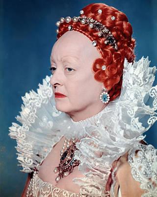 Bette Davis In The Virgin Queen  Print by Silver Screen