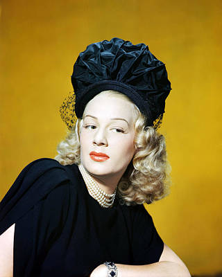 Betty Photograph - Betty Hutton by Silver Screen